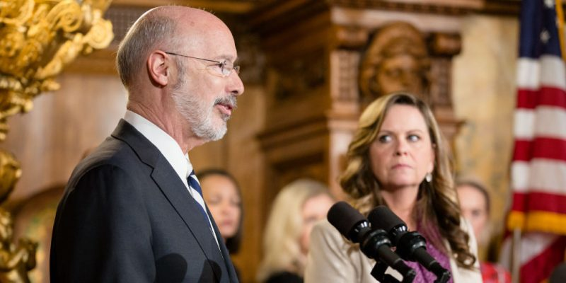 Gov. Wolf Secures Full Domestic Violence Plan