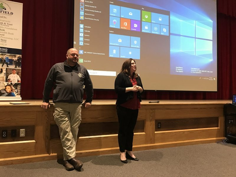 Clearfield Students Learn from Juvenile Probation Officers, 911 Coordinator During Exploring Program