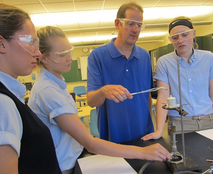 Chemistry Students Experience Dehydration at DCC