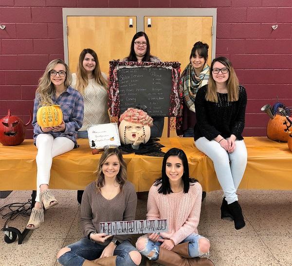 CCCTC Students Participate in Pumpkin Decorating Contest