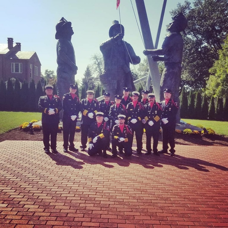 Local Firefighters Attend National Fallen Firefighters Memorial Weekend