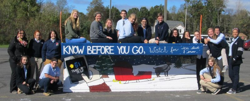 DCC Art Students 'Paint The Plow' for PennDOT