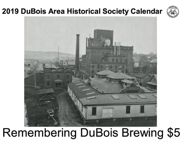 2019 Calendar Recalls DuBois Brewing Company