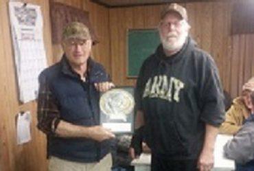Sportsmen's Club Recognizes Groundhog Match Champion