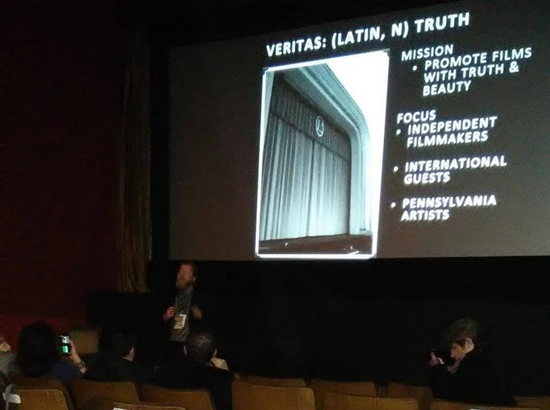 Ritz Theater Hosts Opening of Veritas Film Festival