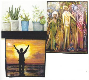 Local Artists' Paintings on Display at Clearfield Restaurant