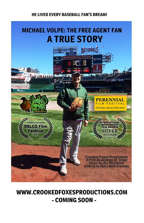 Award-Winning Baseball Documentary, The Free Agent Fan, to Screen at Ritz During Veritas Film Festival