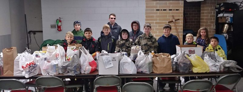Scouts' Food Drive Benefits Living Bread Ministry