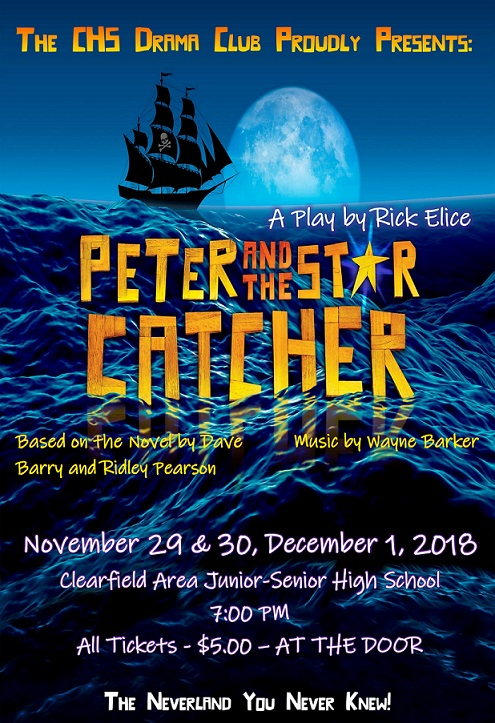 CHS Drama Club to Present Peter and the Starcatcher