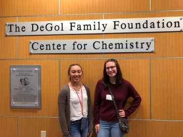 2 Clearfield Students Participate in Women in Chemistry Day