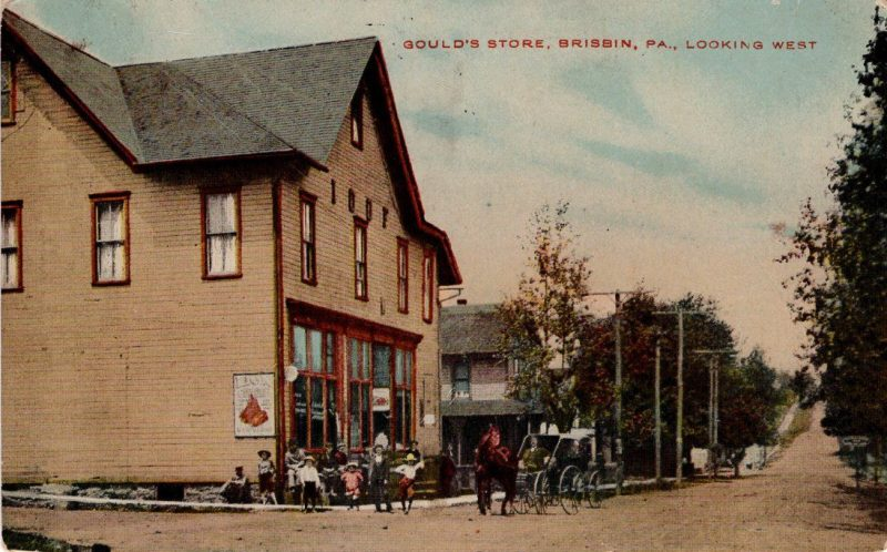 Throwback Thursday: Brisbin IOOF Lodge and Gould's Store