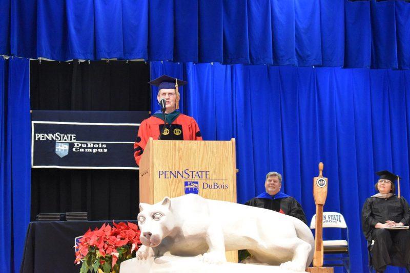 Penn State DuBois Celebrates Fall Commencement