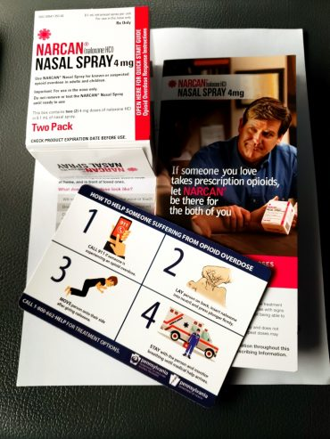 Free Narcan Kits Distributed in Clearfield Co.