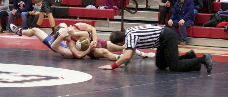 Bearcats Claw Themselves to a 38-33 Victory over Bison Wrestlers
