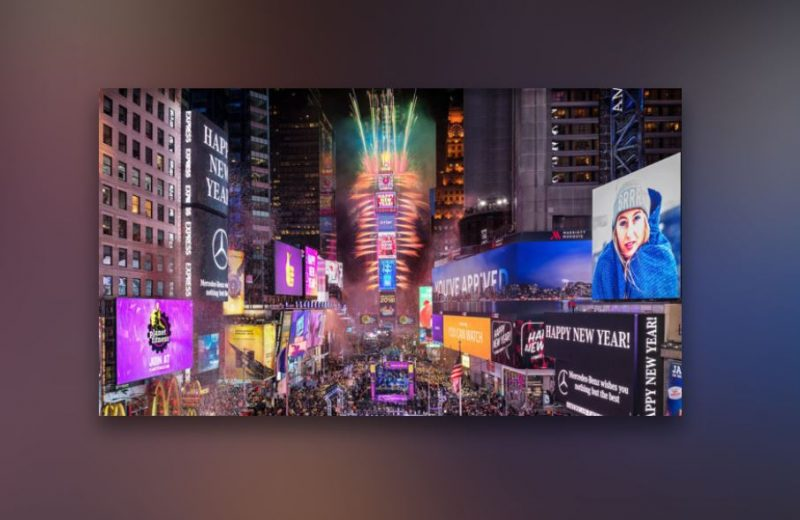 WATCH: Times Square New Year's Eve