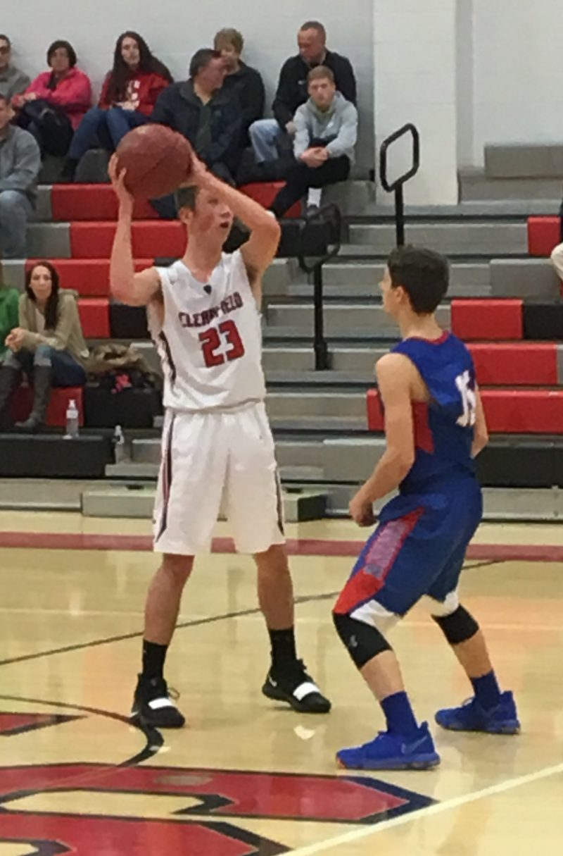 Second Half Outburst Pushes Clearfield Cagers to Second-Straight Win