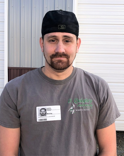 CCCTC Graduate of the Month is Dustin Quigley