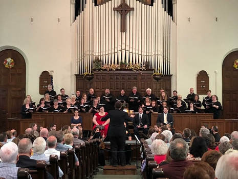 Choral Society to Host Annual Christmas Concert on Dec. 16