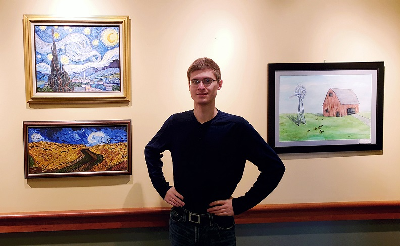 Local Artist Displays Artwork at Lock Haven University Clearfield Campus