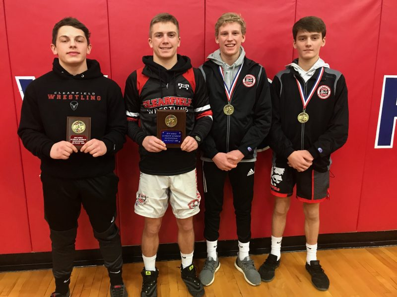 Clearfield Bison Place Four at Ultimate Warrior Tourney