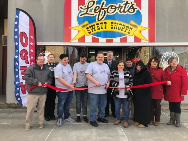 Lefort's Sweet Shoppe Opens in Downtown Clearfield