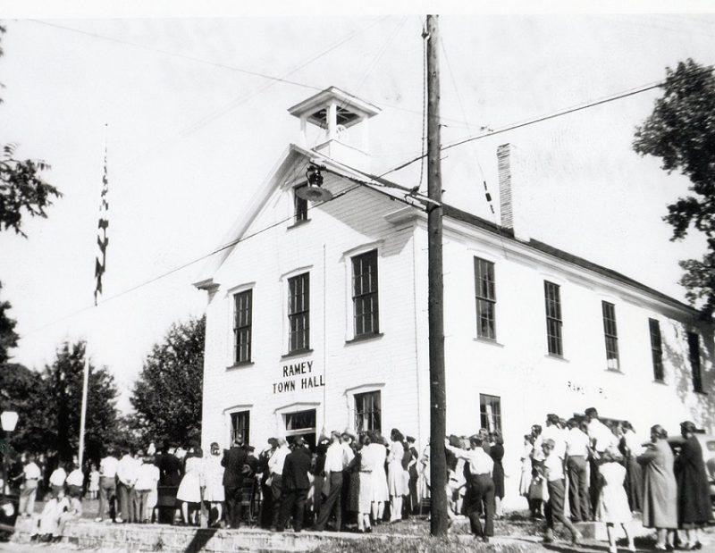 Throwback Thursday: Ramey Town Hall