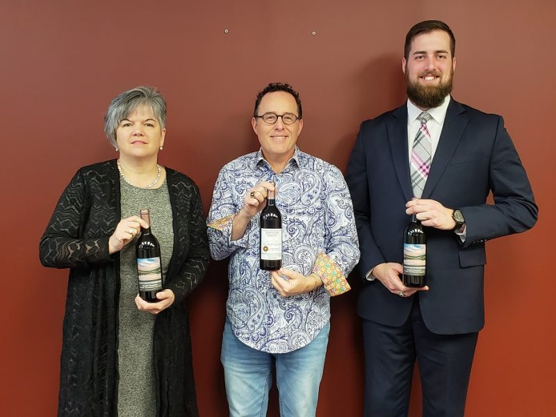CRC and Starr Hill Winery Unveil Sixth-Edition Wine of Clearfield