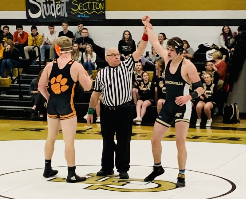 Curwensville Wrestlers Pin Bobcats 39-36