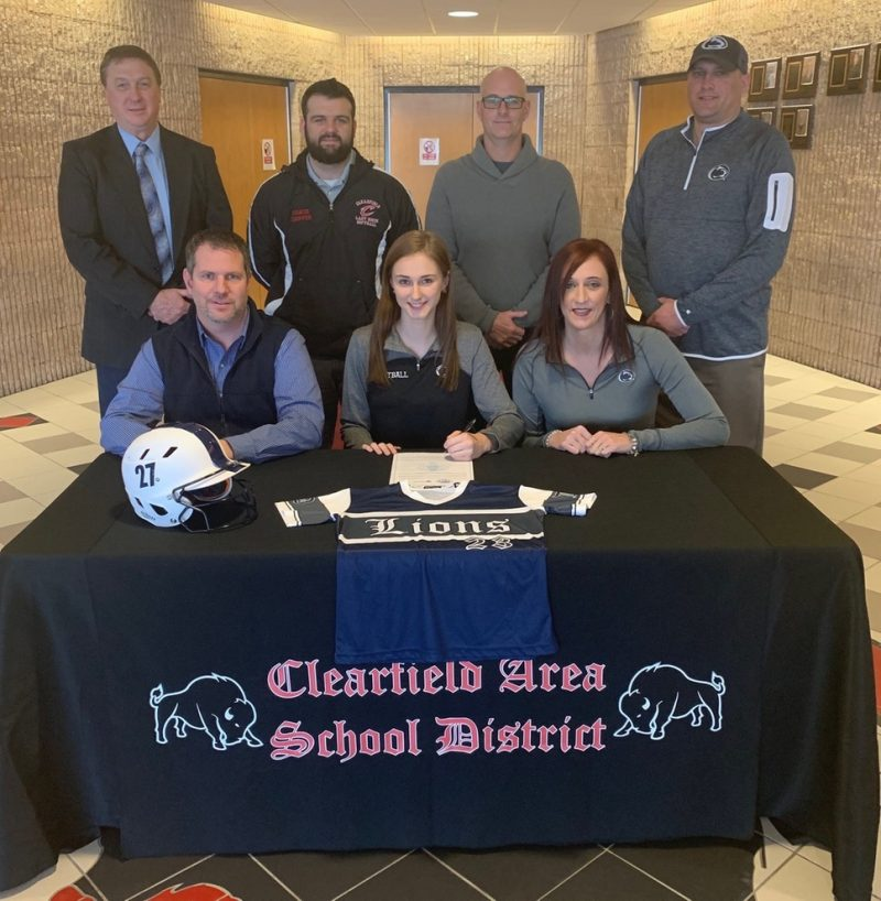 Rumsky Signs With Penn State DuBois