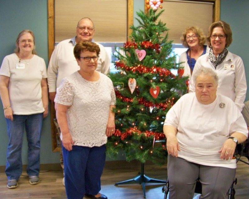 Clearfield Center for Active Living Celebrates Winter, Makes Valentine Crafts