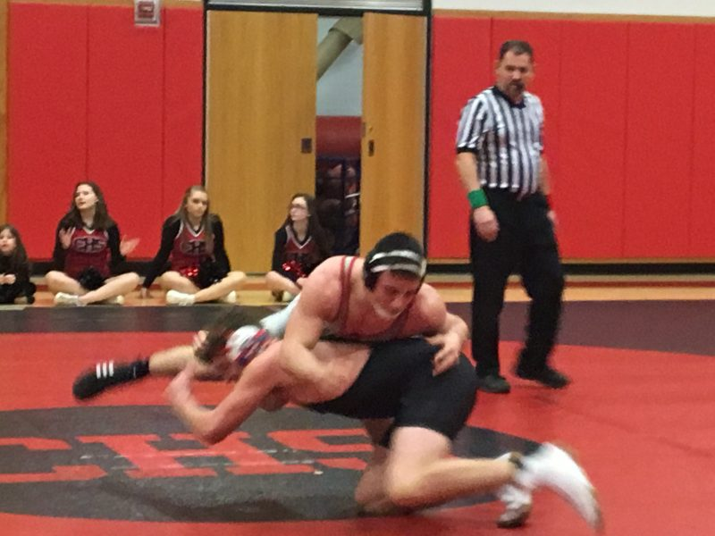 Bison Wrestlers Rebound With Win Over Tyrone