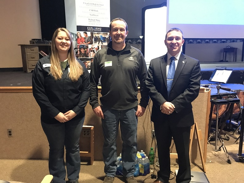 Curwensville Students Hear About Continental Carbonic