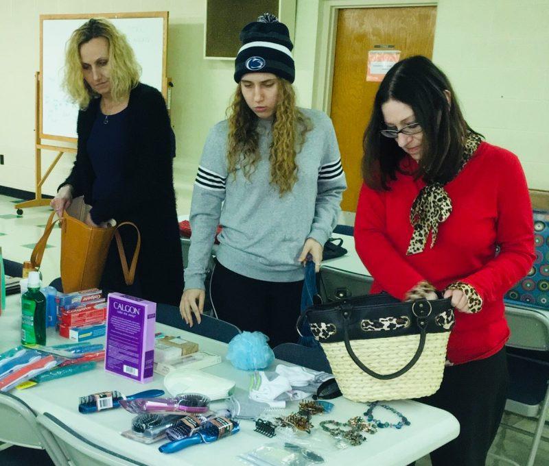 Clearfield BPW Stuffs Purses to Benefit Bradford YWCA