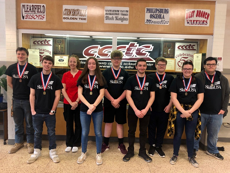 CCCTC Students Compete in SkillsUSA Competition