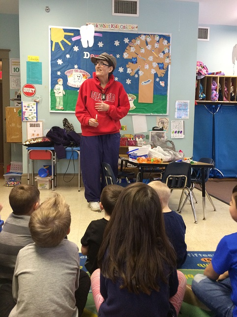 Students Learn About the Legend of Hoodie Hoo Day