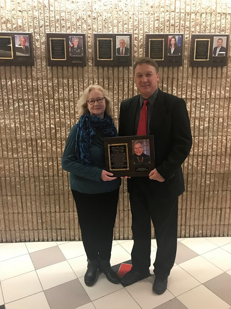 Plaque to Honor Award-winning Artist, Author and Clearfield Grad at CAJSHS