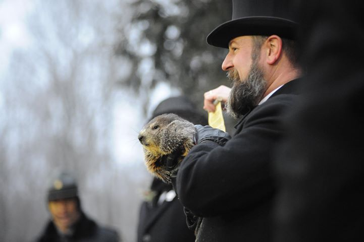 "BREAKING: Punxsutawney Phil Predicts ""A Beautiful Spring"""