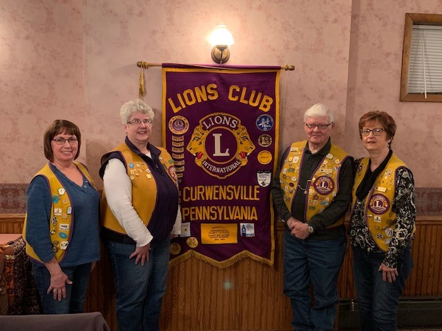 Curwensville Lions Club Awards Member for 65 Years of Service