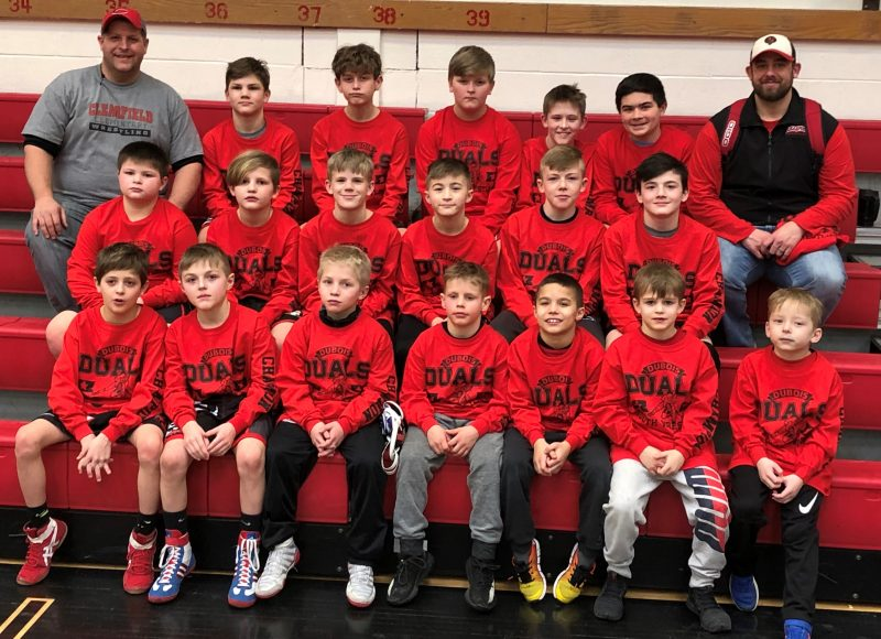 Clearfield Youth Wrestlers Win DuBois Duals