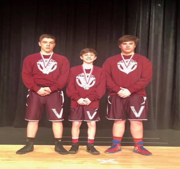 Clearfield Junior High Wrestling Team Advances Three to State Tourney