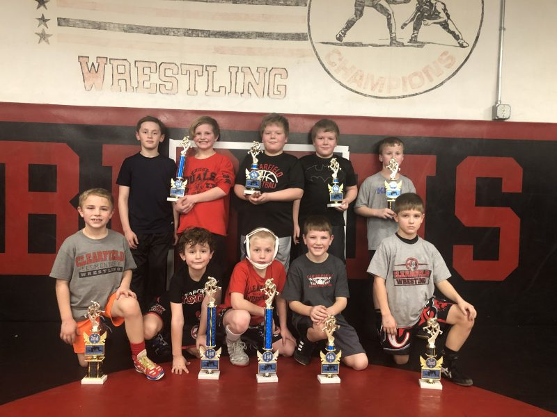Clearfield Youth Wrestlers Compete at Keystone Wrestling League Championships