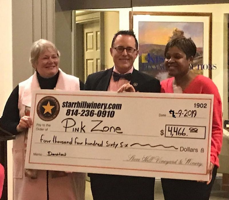 Pink Zone and Starr Hill Are Making a Difference