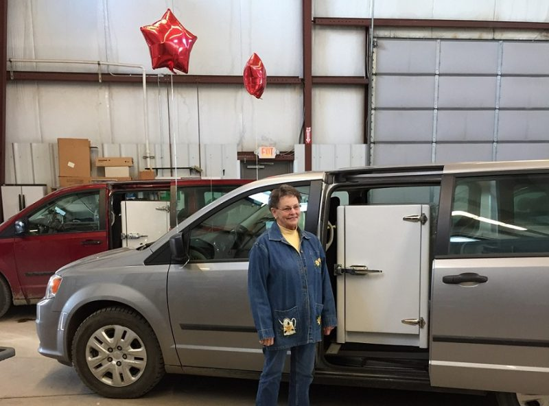 Long-time Meals on Wheels Driver Retires