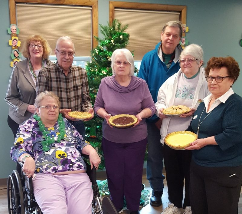 Clearfield Seniors Celebrate Pi Day