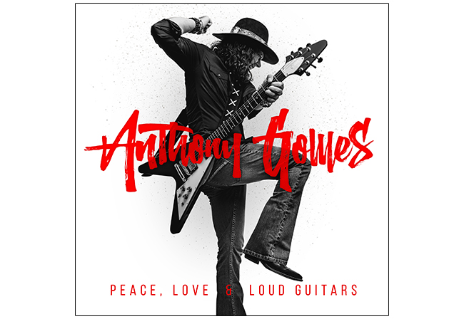 Anthony Gomes' 'Peace Love & Loud Guitars' Tour Coming to Clearfield