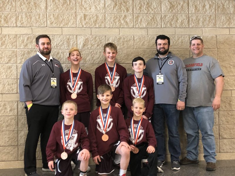 Clearfield Wrestlers Compete in PJW Championships