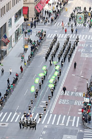 Local Band Marches in New York City's St. Patrick's Day Parade