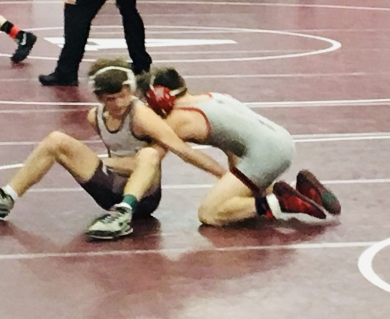 Three Bison Grapplers Make Northwest Regional Semi's
