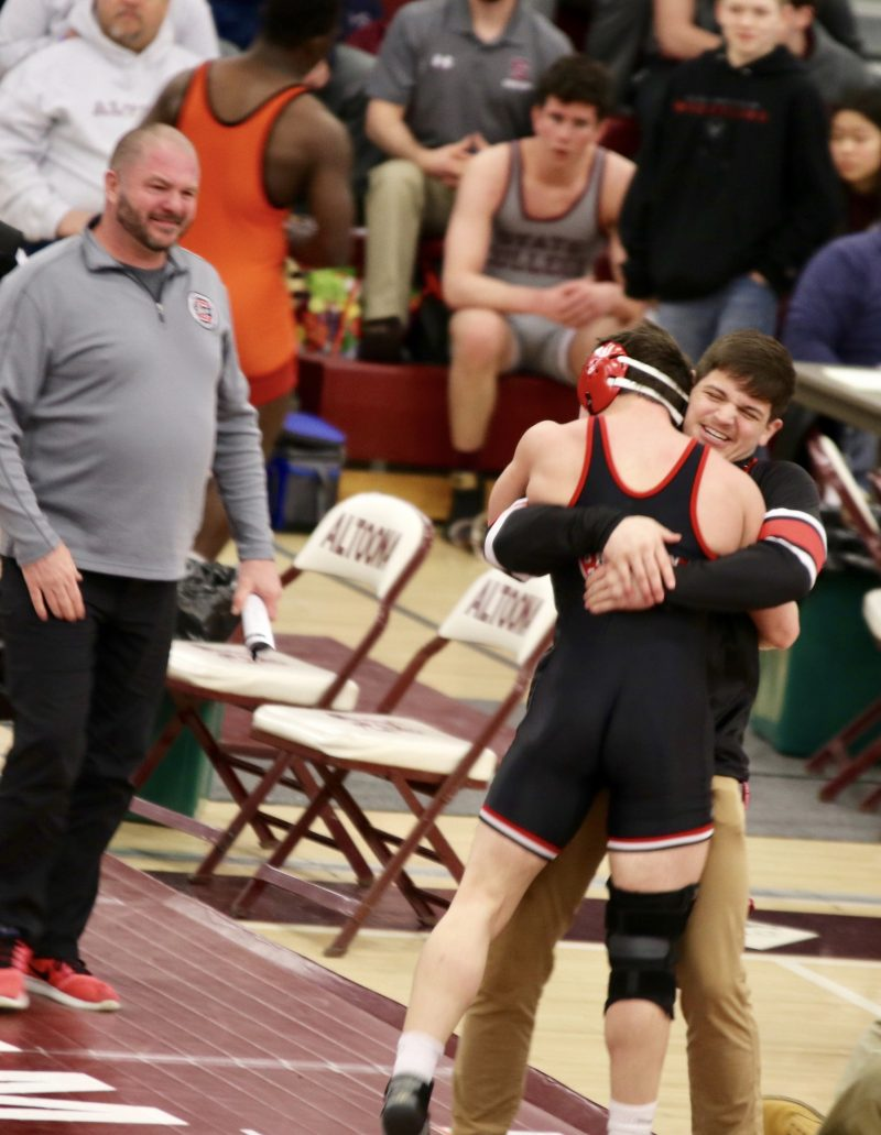 Mark McGonigal to Wrestle in PIAA AAA State Tournament