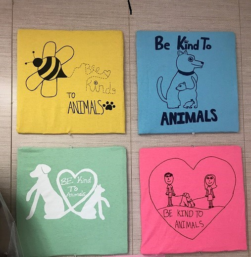 "Youth Can Enter ""Be Kind to Animals"" T-Shirt Contest"